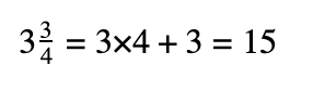 asvab math mixed fractions