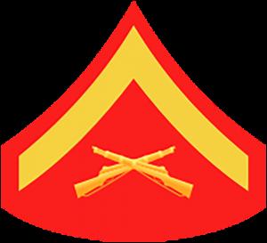 Marines Corp ranks - E3 lance corporal