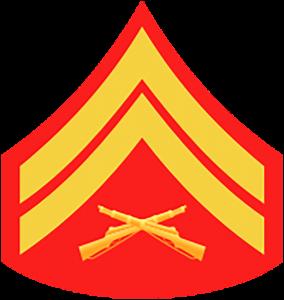 Marines Corp Ranks - Corporal