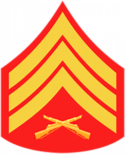 Marines Corp Ranks - Sergeant