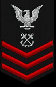 Navy Rank - Petty Officer 1st Class (E-6)