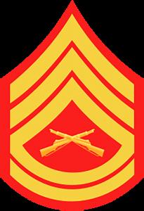 Marines Corp Ranks - Gunnery Sergeant