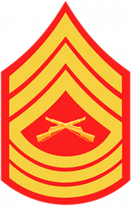 E8 Master Sergeant