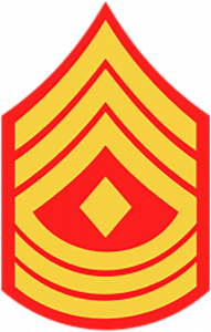 Marines Corp Ranks - First Sergeant