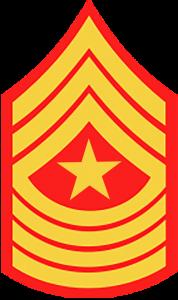 Marines Corp Ranks - Sergeant Major