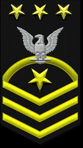 Navy ranks - Master Chief Petty Officer of the Navy (MCPON/E-9)