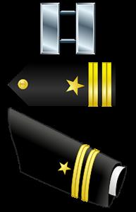 Navy Ranks - Lieutenant (O-3)