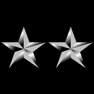 Marines Corp Ranks - Major General (MajGen/O-8)