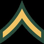 Army Ranks - E2 Private Second Class