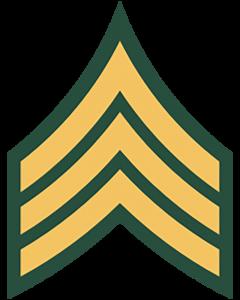 Army ranks - Sergeant (E-5)