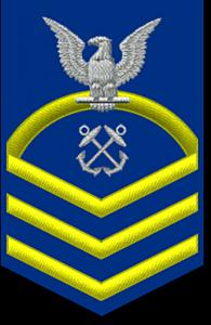 Coast Guard Ranks - Chief Petty Officer