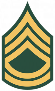 Army Ranks - Sergeant First Class (E-7)
