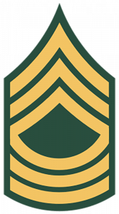 Army Ranks - Master Sergeant (E-8)