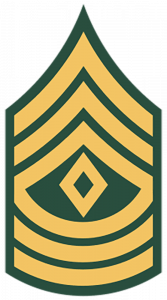 Army Ranks - First Sergeant (E-8)