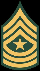 Army Ranks - Sergeant Major (E-9)