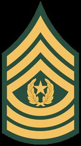 Army Ranks -Command Sergeant Major (E-9)