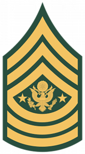Army Ranks - Sergeant Major of the Army (E-9)
