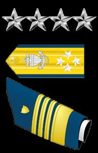 Coast Guard Ranks - Admiral